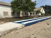 Весы автомобильные 18 метров 60 (80) тонн железобетонные ВАБ18-60