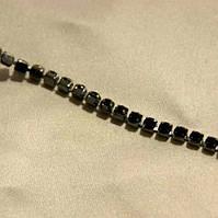 Камни в оправе SS16 черные в черной оправе