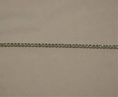 Камни в оправе SS8 10ярд Crystal в серебрянной оправе