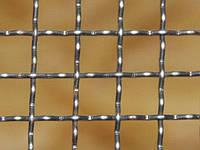 Сетка рифленая канилированная оцинкованная 5x50x50 мм 1,5/2 м