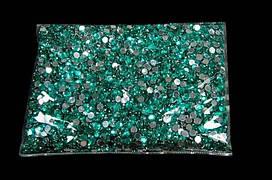 Камни-пластмасса №4 аквамарин (148г)