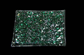 Камни-пластмасса №4 зеленая (141г)