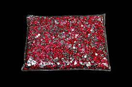 Камни-пластмасса №4 малиновая (149г)