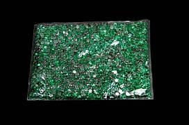 Камни-пластмасса №4 салатовая (121г)
