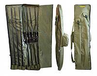 Чехол Fishing ROI для 4-х карповых удилищ с катушкой 140см