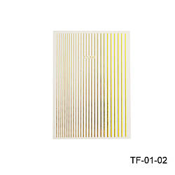 Гнучка стрічка для дизайну нігтів TF-01-02