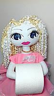 Кукла держатель туалетной бумаги, интерьерная игрушка, для туалетной бумаги, персональный органайзер