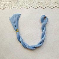 Волосы для кукол для перепрошивки, ниагара  , шелк  80 см,   50 гр