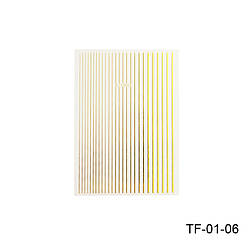 Гнучка стрічка для дизайну нігтів TF-01-06