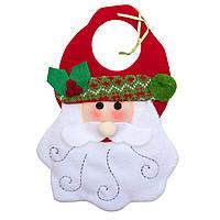 Подвесные фигурки из ткани, Дед Мороз,27см (430475-1)