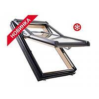 Окно мансардное Roto Designo R79 11/14 114x140см WD дерево