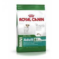 Royal Canin (Роял Канин) Mini Adult 8+ сухой корм для взрослых собак мини пород(старше 8 лет) - 2кг  В НАЛИЧИИ