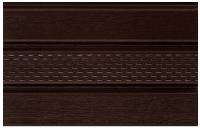 Софит ASKO NEO коричневый перфорированный 3,5 м, 1,07 м2