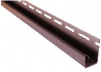 J-планка ASKO NEO коричневая, 3,8 м