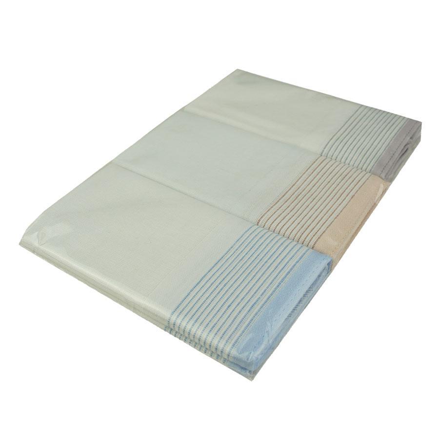 Набор светлых носовых платков с отделкой для мужчин EGA 3 шт CH-727/3 С