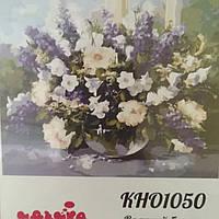 Розпис по полотну 40*50 Идейка Роспись по номерам Картины по номерам КН01050 Летний букет