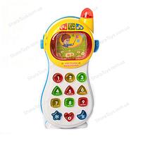 """Музыкальная игрушка """"Сообразительный телефон"""" на украинском языке"""