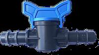 Кран стартовый для капельной трубки Evci Plastik 16 мм