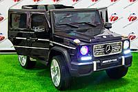 """Детский электромобиль Mercedes Brabus """"VIP"""" G65 AMG (4WD), черный лак"""