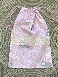 Эко мешочки для вещей и продуктов, екоторбинка, хлопковый мешочек многоразовый для хранения, фото 2