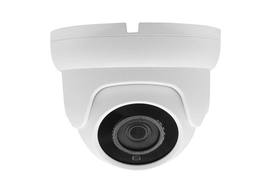 IP 2Мп видеокамера уличная купольная POE 2.8мм