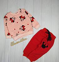 Костюм детский на девочку 1-4 года Минни Турция
