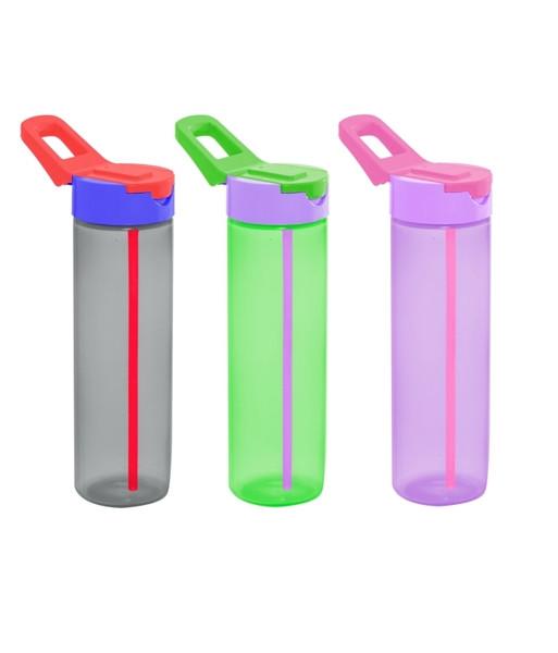 Пляшка для спорту з трубочкою HEREVIN SIMPLE 730 мл (161800-000)