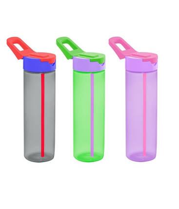 Пляшка для спорту з трубочкою HEREVIN SIMPLE 730 мл (161800-000), фото 2