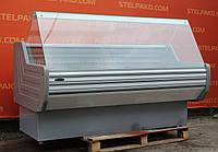 Холодильная витрина охлаждаемая «Технохолод ПВХС Кентукки» 1.8 м. (Украина), новый компрессор, Б/у, фото 1