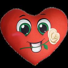 Сердце подушки антистресс