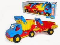 КонсТрак, автомобиль-самосвал с полуприцепом (в коробке) ПОЛЕСЬЕ