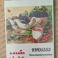 Розпис по полотну 40*50 Идейка Роспись по номерам Картины по номерам КН05553 Вітамінний коктейль
