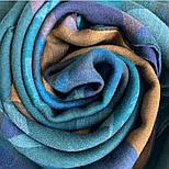 10669-12  кашне мужское, павлопосадский шарф (кашне) шерстяной (разреженная шерсть) с осыпкой, фото 6