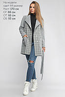Женское Пальто Бриджит Lipar Серое