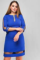 Женское платье Ингрид Lipar Электрик Батал 50