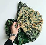 10788-10 кашне мужское, павлопосадский шарф (кашне) шерстяной (разреженная шерсть) с осыпкой, фото 7