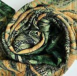 10788-10 кашне мужское, павлопосадский шарф (кашне) шерстяной (разреженная шерсть) с осыпкой, фото 5