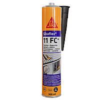 Поліуретановый клей-герметик Sikaflex 11 FC+ Чорний 300 мл