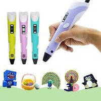 🔥 3D ручка 3DPen-2 с LCD дисплеем
