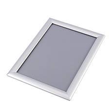 Клик рамка для плаката из алюминия А0  25 профиль. С Защитным пластиком., фото 3