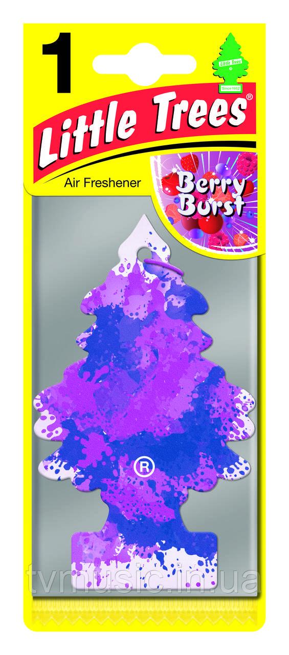 Ароматизатор в машину Little Trees Berry Burst / Ягодный взрыв