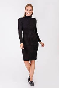Платье трикотажное Янина черное
