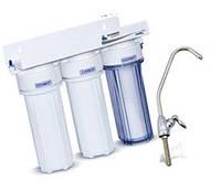 Проточный водяной фильтр Leaderfilter MF3. Водоочиститель