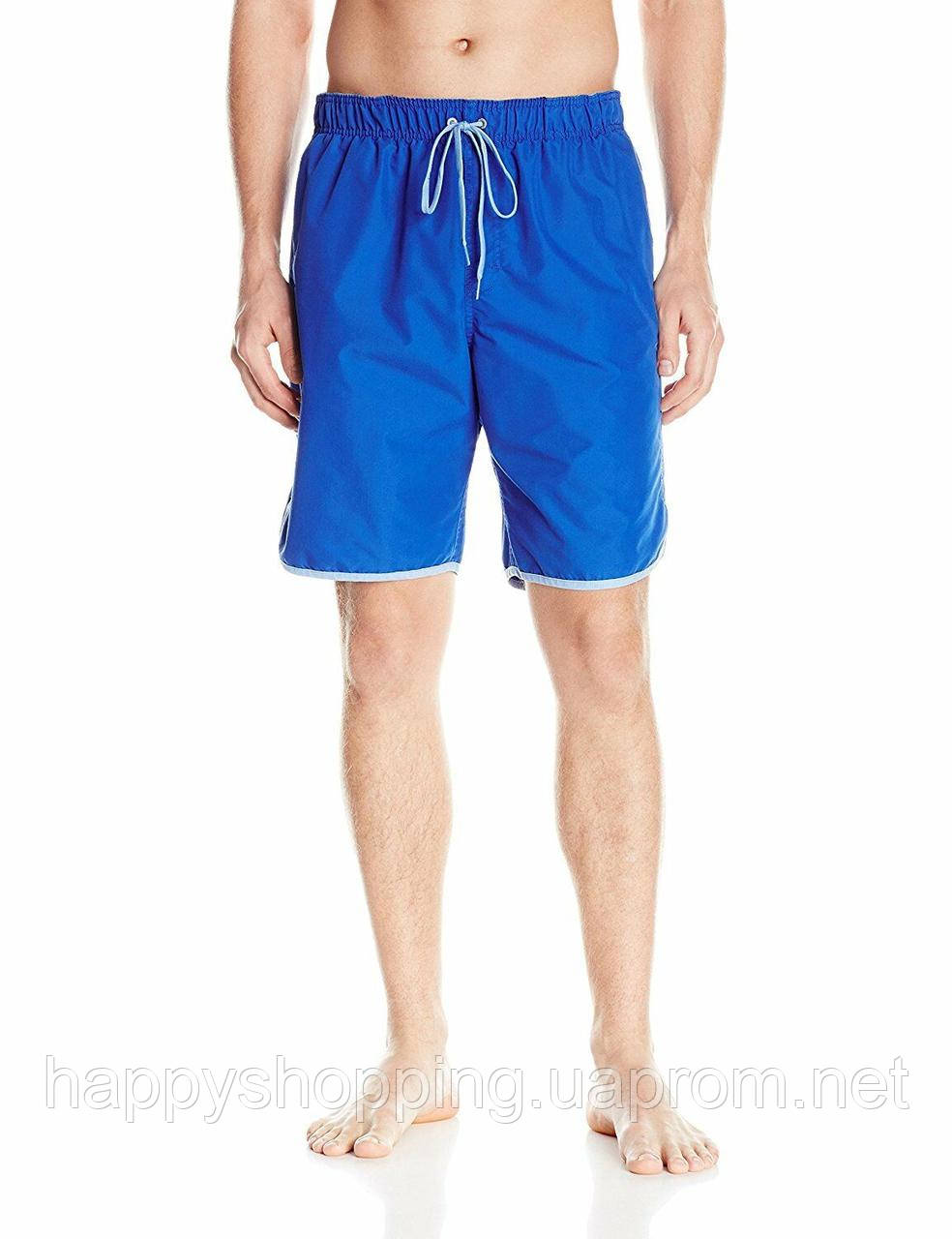 Мужские оригинальные синие пляжные шорты Calvin Klein