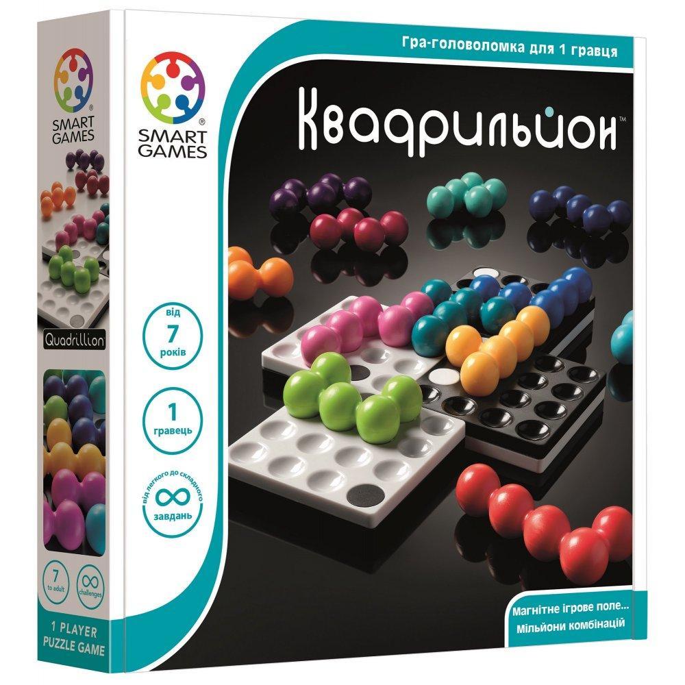 Настільна гра головоломка Квадрільон (Quadrillion) TM Smart games (SG 540 UKR)