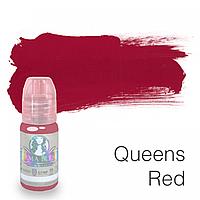 """Пигмент для татуажа губ """"Queens Red"""""""