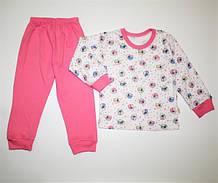 Піжамка для дівчинки інтерлок