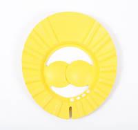 """Козирок для миття голови TM """"Lindo"""" жовтий"""