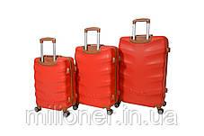 Чемодан Bonro Next набор 3 шт. красный, фото 2