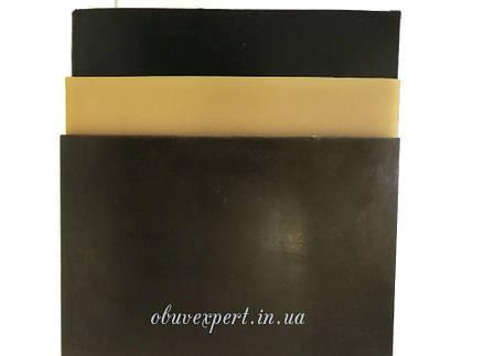 Поліуретан Білоруський 260 * 180 т. 4,0 мм, гладкий, кол. чорний, фото 2